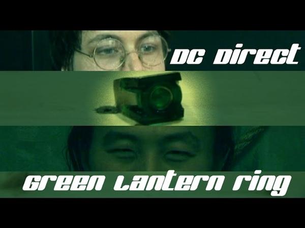 Космический обзор на кольцо Зелёного фонаря от DC Direct