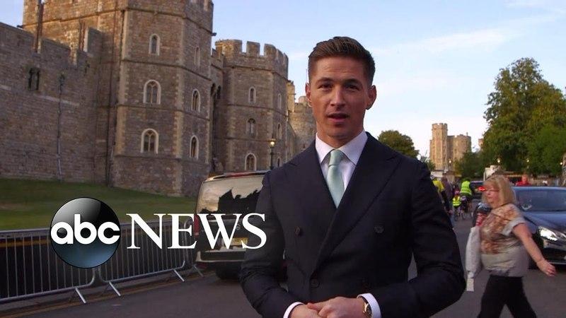 Королевская свадьба: Гости собираются в Виндзорском замке