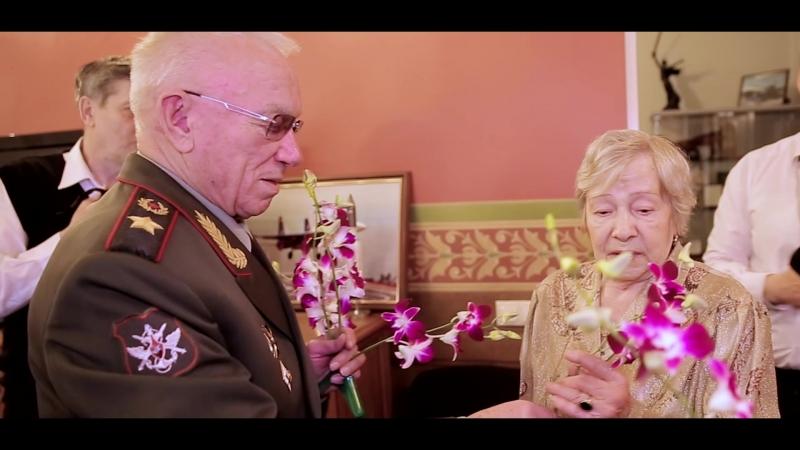 Вдова генерала армии благодарит кинокомпанию «Союз Маринс Групп»