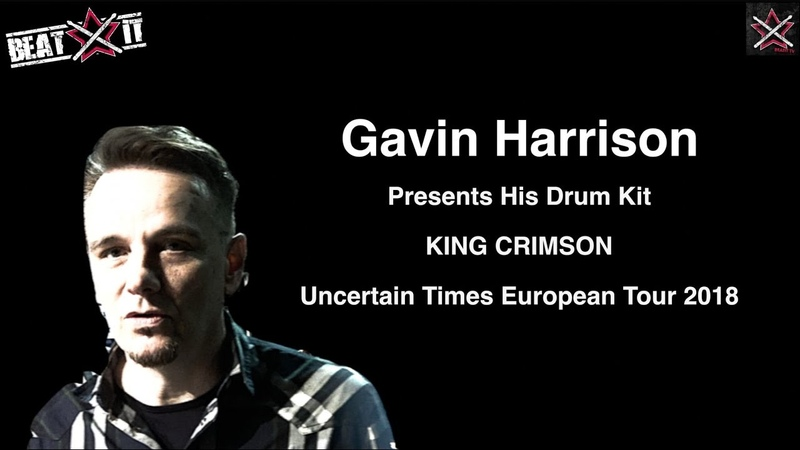 Gavin Harrison's King Crimson 2018 World Tour Drum Kit