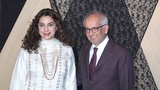 Juhi Chawla With Husband Jai Mehta At Mukesh Bhatt Daughters Wedding Reception