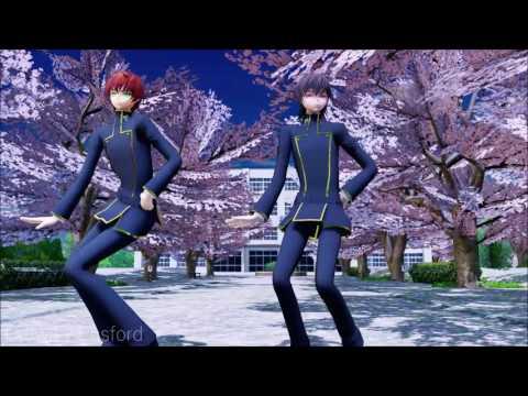 【Code Geass MMD】 Kiss me 愛してる 『Lelouch and Suzaku』