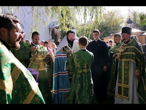 Престольный праздник в храме Антония и Феодосия Печерских