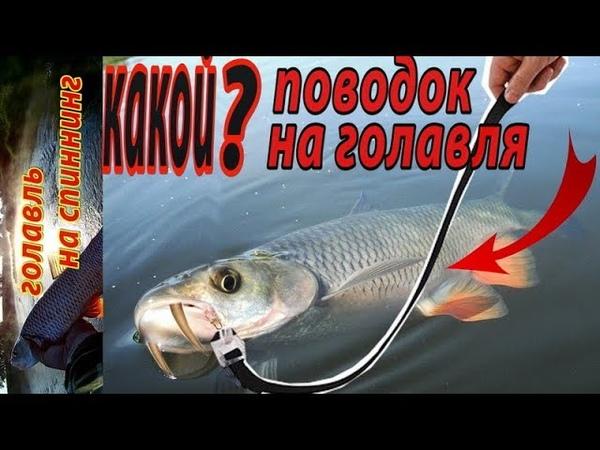 Какой поводок лучше использовать при ловле голавля на спиннинг? Рыбалка спиннингом на перекате.
