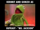 """Kermit and Gonzo perform the Outkast classic Ms Jackson"""" Video by Mylo the Cat aka isthishowyougoviral"""