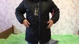 Примерка зимней куртки с Алиэкспресс копии Alpha Industries N-3B PARKA