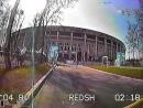 Первые круги по гоночной трассе в Лужниках