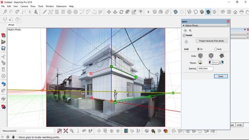 Функция Match Photo для SketchUp   Софт Культура
