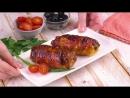 Куриная грудка с начинкой в беконе