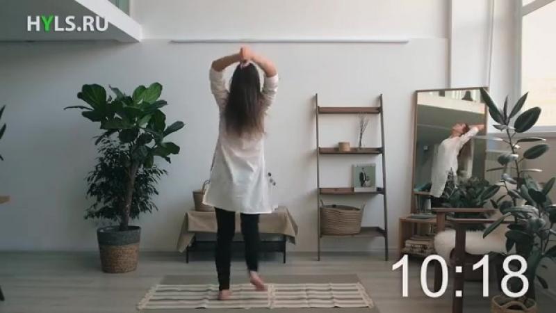 Каушики (каошики) танец 21 минута. Медленный темп. Танцуем вместе (1)