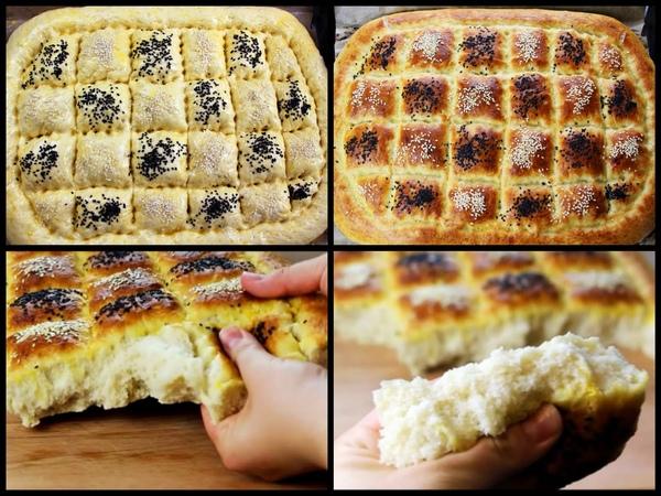 Ramazan Pidesi - Turska lepinja, mekana i sočna / Turkish Ramadan Flat Bread/Pita Bread