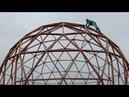 МОЙ ПЕРВЫЙ ТРЕХЭТАЖНЫЙ купольный дом V4 ДИАМЕТРОМ 11 МЕТРОВ СБОРКА КАРКАСА