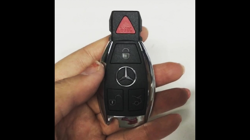 IYZDC11 IYZDC07 IYDC10 Smart key 3 button with panic 315Mhz 434Mhz for Mercedes E350 C350 ML350 SLK350 GLK350 2009 2010 2011