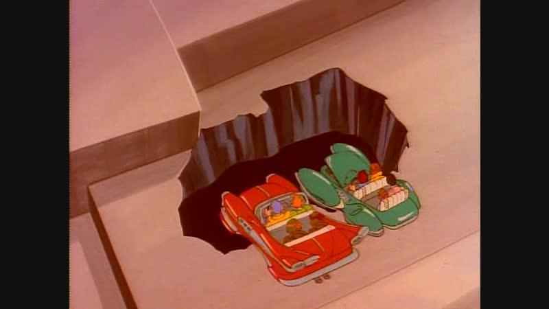 Сезон 04 Серия 45: Приключения в измерении «Икс» | Черепашки мутанты ниндзя (1987-1996) / Teenage Mutant Ninja Turtles