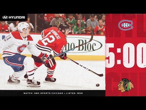 NHL 19 PS4. REGULAR SEASON 2018-2019: Montreal CANADIENS VS Chicago BLACKHAWKS. 12.09.2018. (NBCSN) !