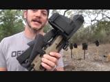 Складной Glock, превращающийся в пистолет-пулемёт _ Разрушительное ранчо _ Перев