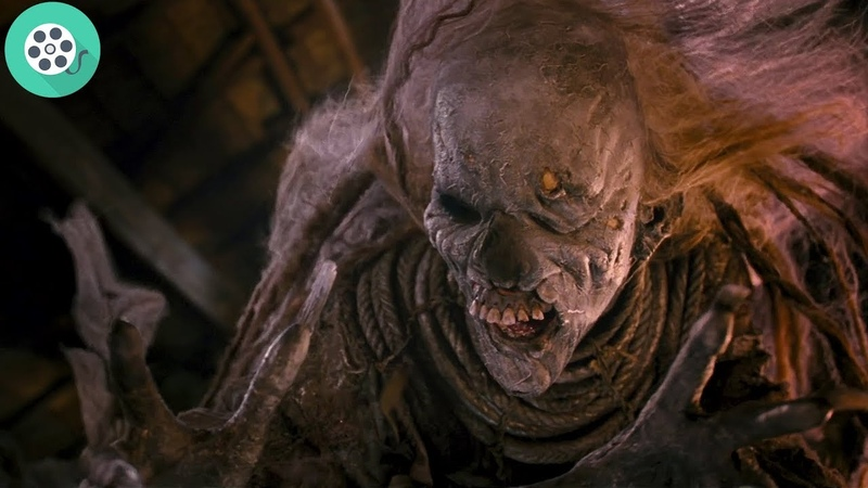 Братья Гримм изгоняют ведьму. Братья Гримм (2005) год.