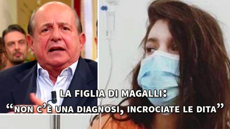 Michela Magalli, figlia di Giancarlo ricoverata in ospedale