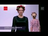 КАРИНА ХИМЧИНСКАЯ KARINA KHIMCHINSKAYA Неделя моды в Москве