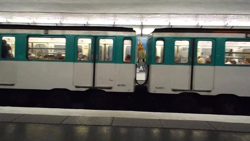 Paris rubber tyred metro spotting