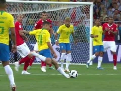 Футбол. Чемпионат мира-2018. Бразилия – Швейцария. Сборная Бразилии сыграла вничью с - Вести 24