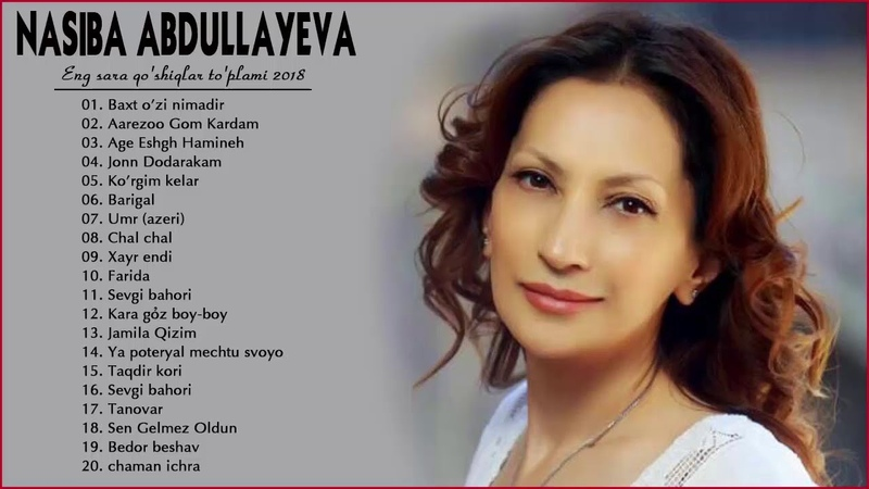 Nasiba Abdullayeva Eng sara qo'shiqlar to'plami 2018 Насиба Абдуллаева Жонли ижро альбом 2018 1