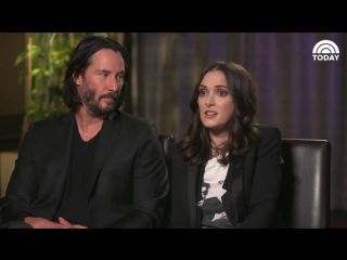 Keanu Reeves  Winona Ryder On New Film Every Time We See Each Other It Is A Me