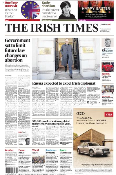 The Guardian e-paper Journal – March 28, 2018 The Guardian G2
