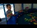 День рождение 3 года Никита пошел развлекаться Рыбалка Батут 11 08 2018 Прыгаем на батуте