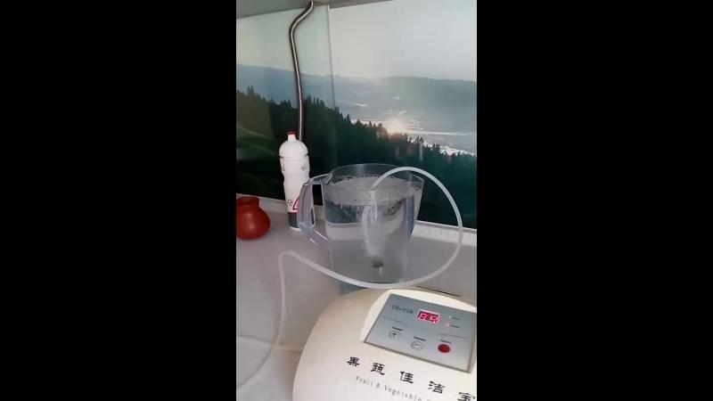 Озонирую свою воду ...Индекс надёжности воды 10 из 10!