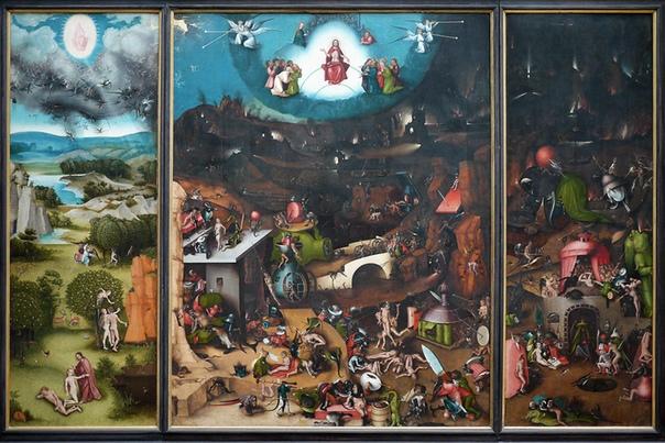 История одного шедевра. Триптих «Страшный суд», Иероним Босх