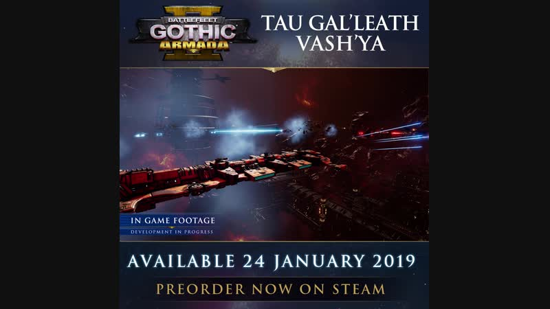 Battlefleet Gothic Armada 2 линкор класса Гал'леат