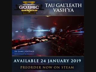 Battlefleet Gothic: Armada 2 - линкор класса Гал'леат