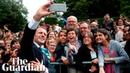 Emmanuel Macron scolds teenager for calling him 'Manu'