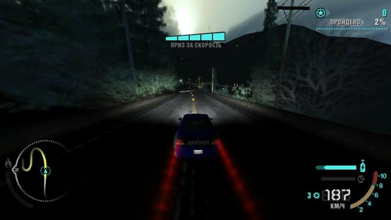 NFS Carbon / Drift Duel / Joker vs Gold Dust / Part 1.0 / Lookout Point / Mitsubishi Lancer EVO9 / Keyboard /