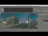 Blender Улица (Рендер в реальном времени)