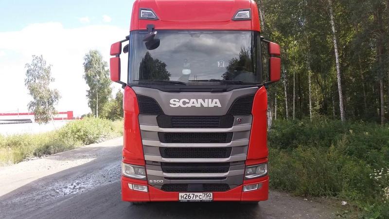 Обзор Scania S500.Первые впечатления от машины!