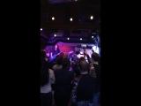 Группа Артерия на сцене бара Мажор