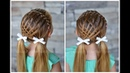 Feathered Lace Headband Braid | Hair Tutorial for Girls