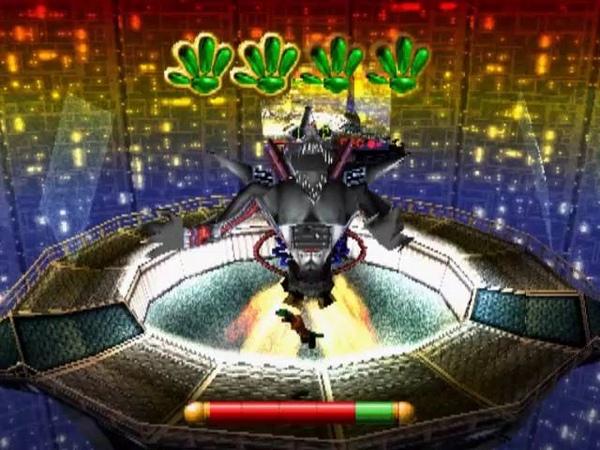 PS1 USA Gex 3 Deep Cover Gecko 18 Channel Z Boss №3 Final Rez