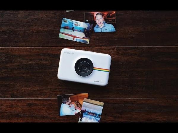 Обзор фотоаппарата Polaroid Snap Camera и принтера фоток Lifeprint для iOS/Android