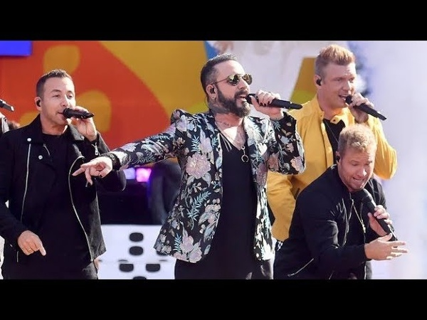 Backstreet Boys 'I Want it That Way' live