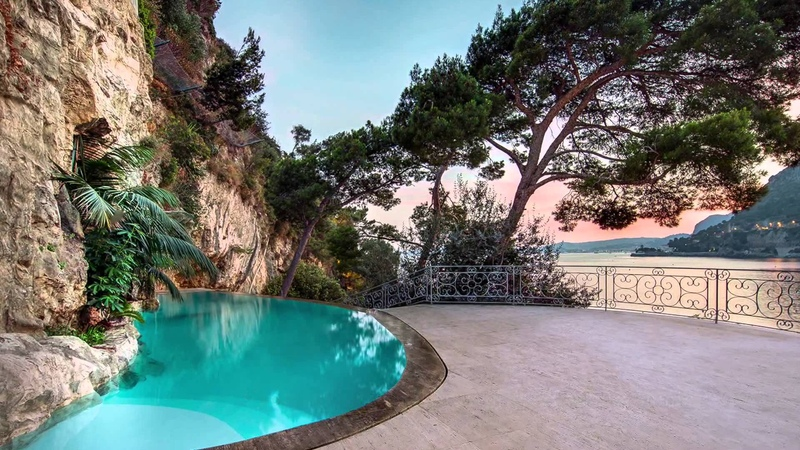 FOR SALE Luxury Waterfront Villa in Cap DAil, Cote dAzur, France by Verzun