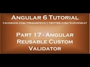 How to make angular custom validator reusable