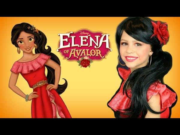 Disney Princess Elena of Avalor Costume and Makeup Tutorial