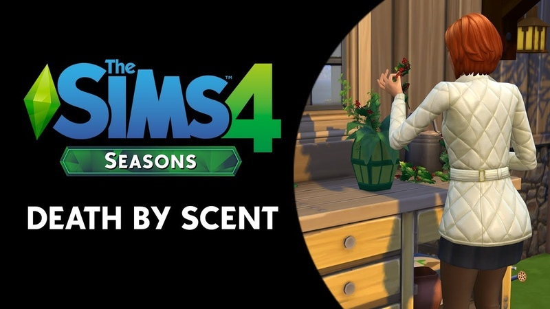 The Sims 4 Seasons: Death by Flower Scent