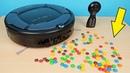 Новый Робот Пылесос Midea против конфет MM's и другие испытания! alex boyko