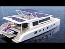 Обзор яхты работающей на солнечной энергии(Overview of a yacht powered by solar energy)