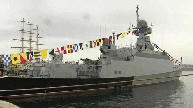 Черноморский флот принял пополнение набоевое дежурство заступил ракетный корабль «Орехово-Зуево»