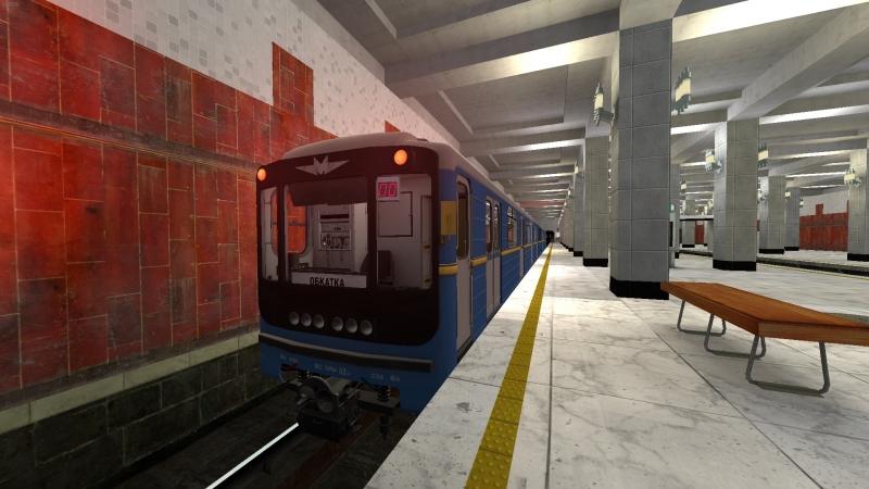 Metrostroi 81 718 Т Без АЛС и АПС